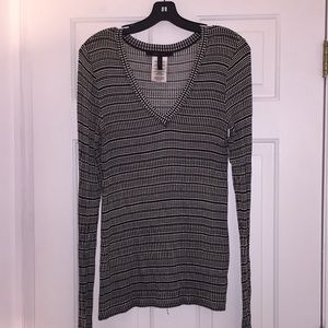 Bcbgmaxazria Agda Long Sleeve Top